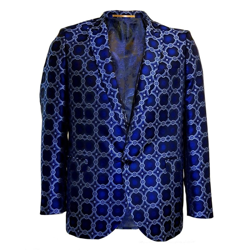 Blazer Blue Circles Front